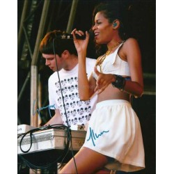 Alunageorge Autographed 10x8 Photo