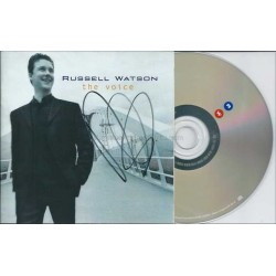 Russell Watson Autographed CD