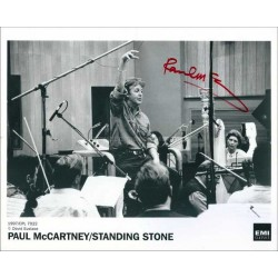 Paul McCartney Autographed 10x8 Photo