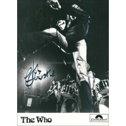 The Who Autographed 9x7 Photo
