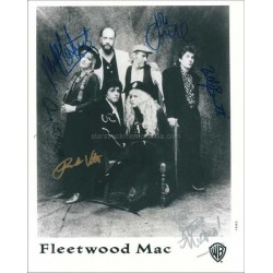 Fleetwood Mac Autographed 10x8 Photo