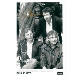 Pink Floyd Autographed 7x5 Photo
