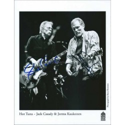Hot Tuna Autographed 10x8 Photo