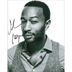 John Legend Autographed 10x8 Photo