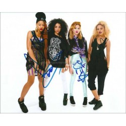 Neon Jungle Autographed 10x8 Photo