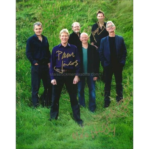 The Manfreds Autographed 10x8 Photo