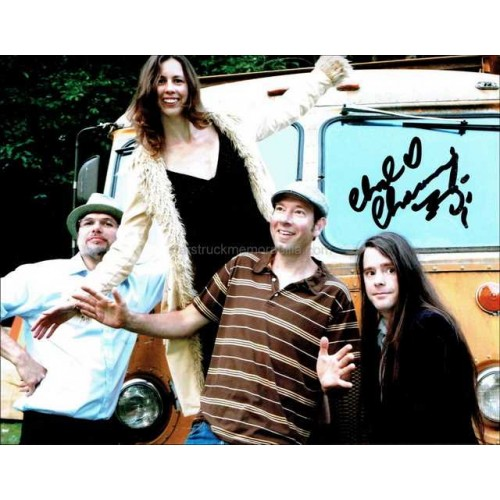 Chad Channing Autographed 10x8 Photo