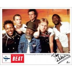 Dave Wakeling Autographed 10x8 Photo