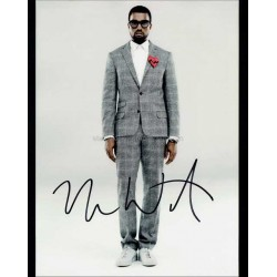 Kanye West Autographed 10x8 Photo