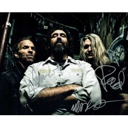 Corrosion of Conformity Autographed 10x8 Photo