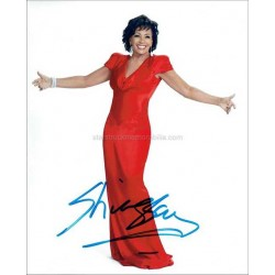 Shirley Bassey Autographed 10x8 Photo