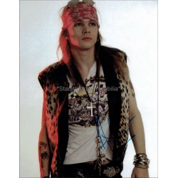 Axl Rose Autographed 10x8 Photo