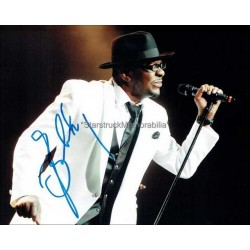 Bobby Brown Autographed 10x8 Photo