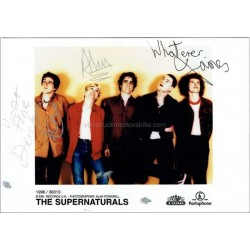 The Supernaturals Autographed 7x5 Photo