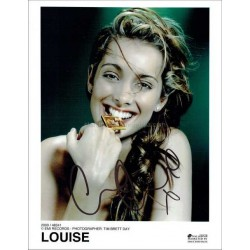Louise Redknapp Autographed 10x8 Photo