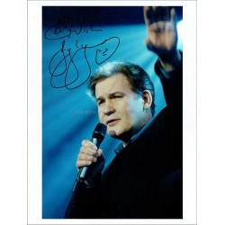 Johnny Logan Autographed 10x8 Photo