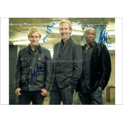 Mike + The Mechanics Autographed 11x8 Photo