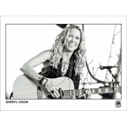 Sheryl Crow Autographed 10x8 Photo