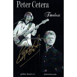 Peter Cetera Autographed 8x6 Photocard