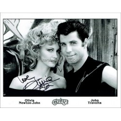 Grease Autographed 10x8 Photo