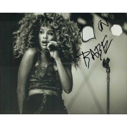 Lion Babe Autographed 10x8 Photo