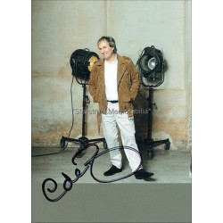 Chris de Burgh Autographed 6x4 Photocard