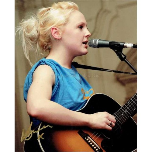 Laura Marling Autographed 10x8 Photo