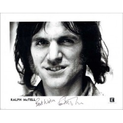 Ralph McTell Autographed 10x8 Photo