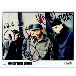Another Level Autographed 10x8 Photo