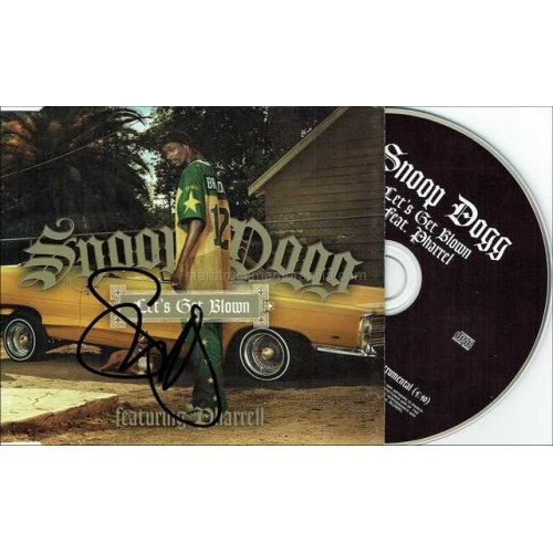 Snoop Dogg Autographed CD
