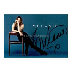 Melanie Chisholm Autographed 6x4 Photo