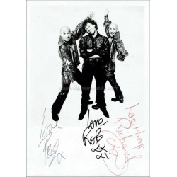 Right Said Fred Autographed 7x5 Photo