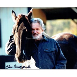 Kris Kristofferson Autographed 10x8 Photo