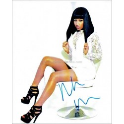 Nicki Minaj Autographed 10x8 Photo