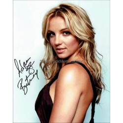 Britney Spears Autographed 10x8 Photo