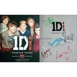 One Direction Autographed Book