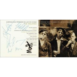 The Walkmen Autographed CD