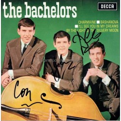 The Bachelors Autographed 7x7 Record Sleeve