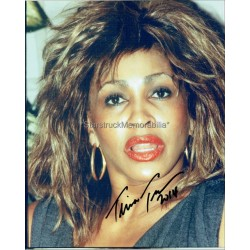 Tina Turner Autographed 10x8 Photo