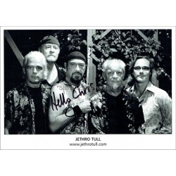 Ian Anderson Autographed 8x6 Photocard