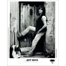 Jeff Beck Autographed 10x8 Photo