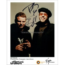 The Chemical Brothers Autographed 10x8 Photo