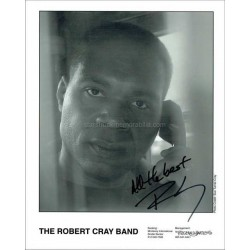 Robert Cray Autographed 10x8 Photo