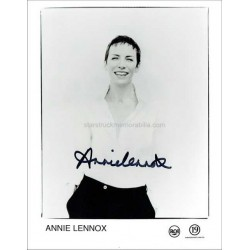 Annie Lennox Autographed 10x8 Photo
