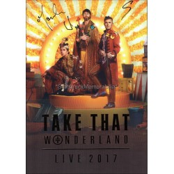 Take That Autographed Programme