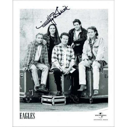 Timothy B. Schmit Autographed 10x8 Photo