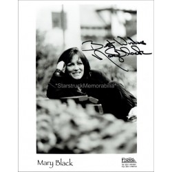 Mary Black Autographed 10x8 Photo