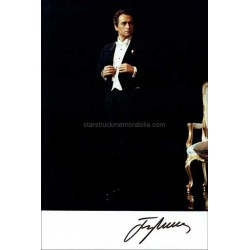 Jose Carreras Autographed 10x7 Photo