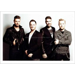 Ronan Keating Autographed 12x8 Photo