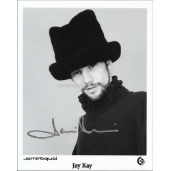 Jay Kay Autographed 10x8 Photo